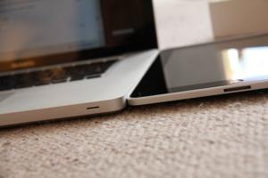 laptop and iPad