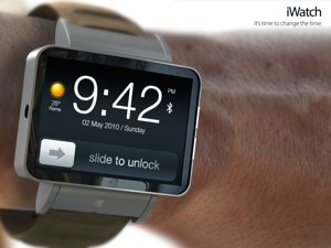 concept image of Apple's anticipated iWatch